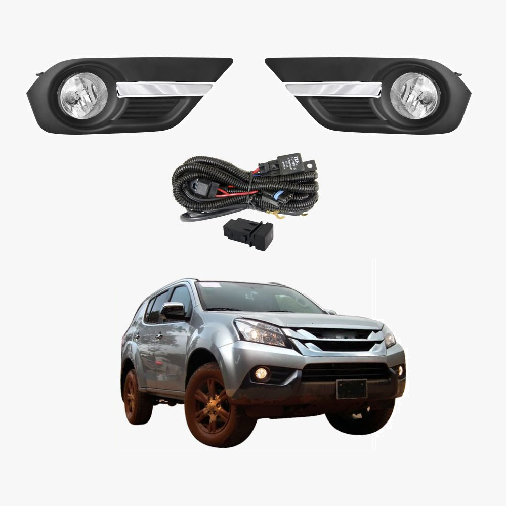 for isuzu mu-x 2012-2016 complete fog light kit