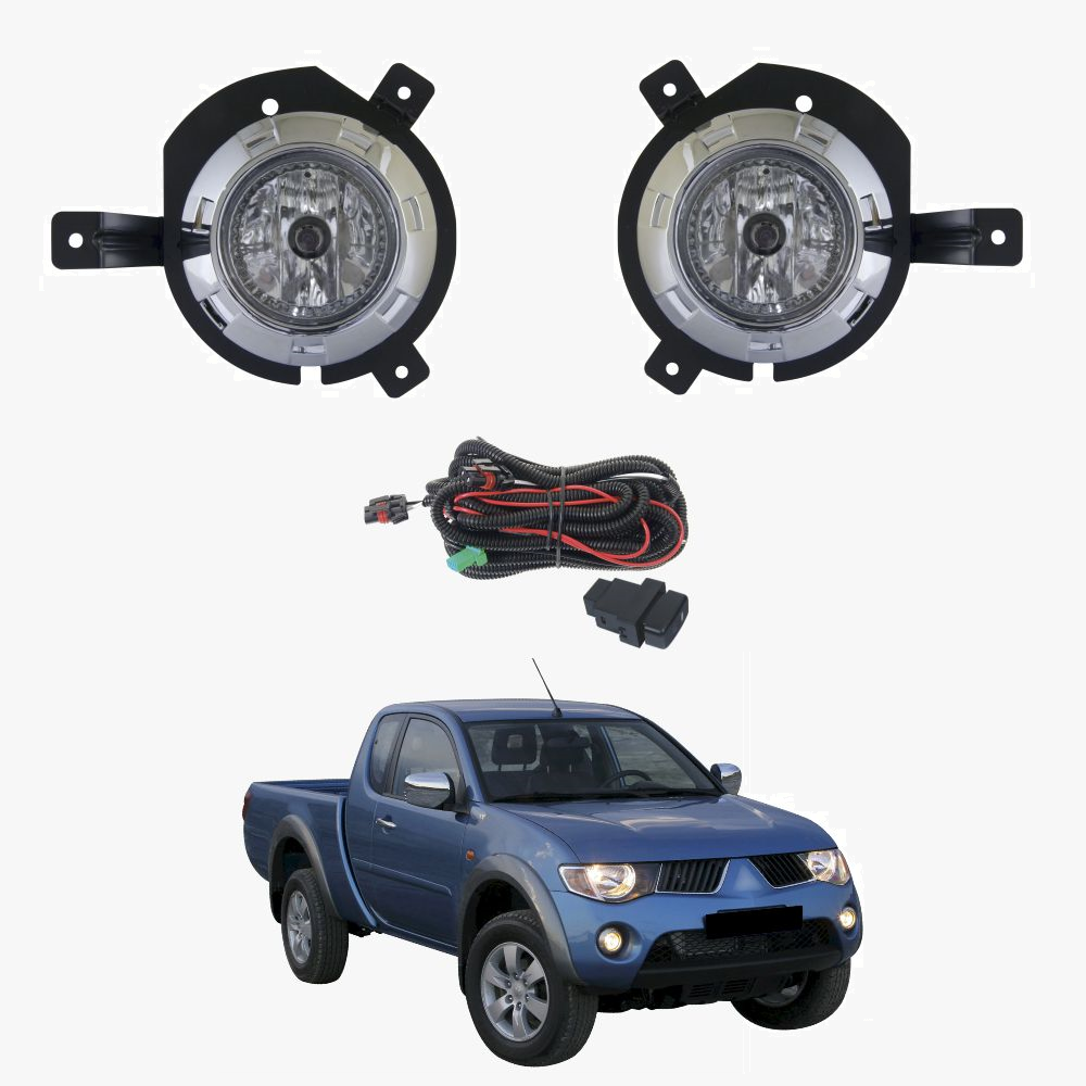 For Mitsubishi Triton ML 2006-2008 Complete Fog Light Kit ...