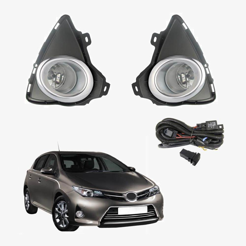 fog light kit for toyota corolla 2014 2015 with wiring. Black Bedroom Furniture Sets. Home Design Ideas