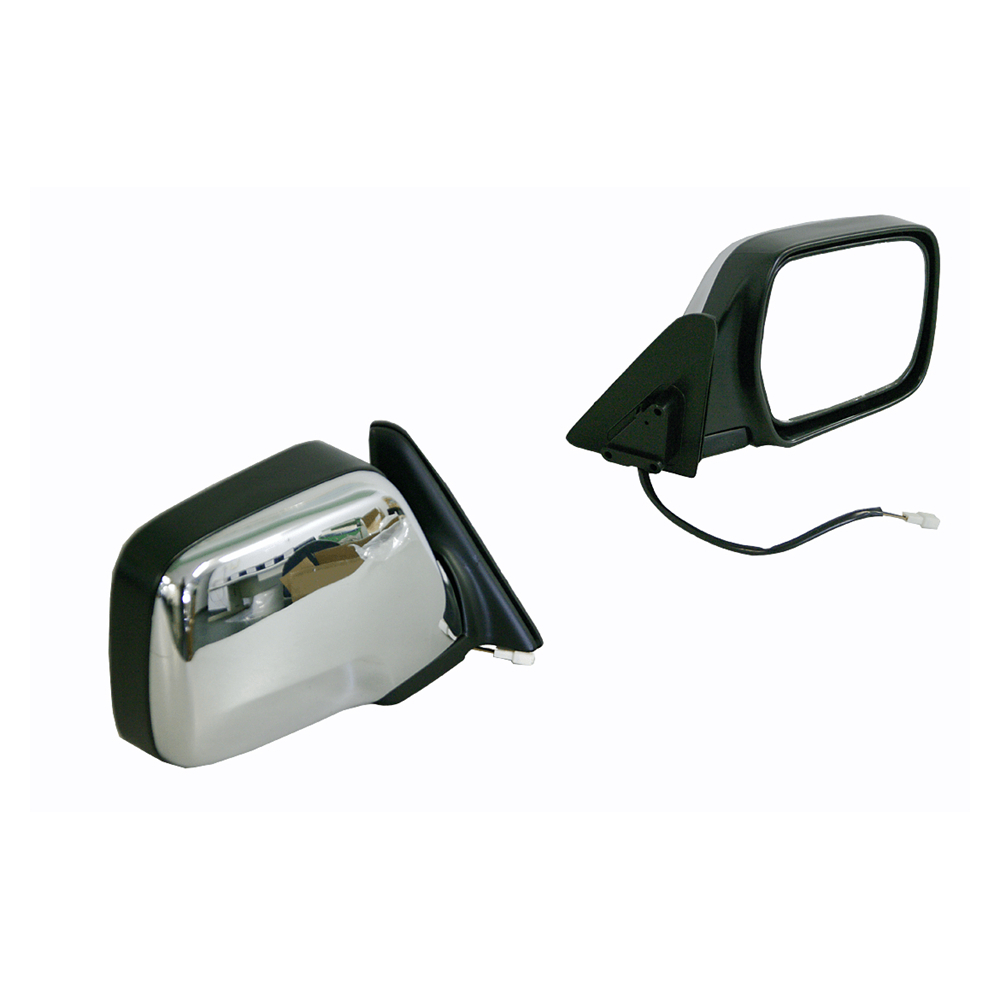 NEW MIRROR FOR TOYOTA LANDCRUISER 80 SERIES 1990-1998 LEFT SIDE CHROME, ELECTR