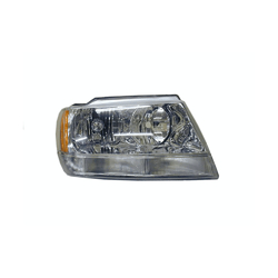 Jeep Grand Cherokee WJ WG 1999-2005 Headlight Chrome Halogen Type-RIGHT
