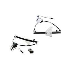 Jeep Grand Cherokee WG 01/2001-06/2005 Window Regulator Electric Left Rear