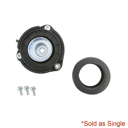 Volkswagen EOS 1F 02/2007-ON Front Strut Mount & Bearing (One Piece)