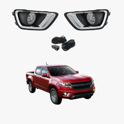Fog Light Kit for Holden Colorado RG 12-16 US Model Only with Wiring & Switch