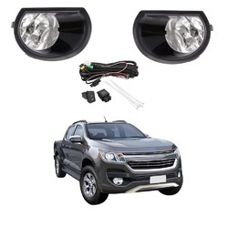 Fog Light Kit for Holden Colorado RG Series 2 2016-2018 with Wiring & Switch