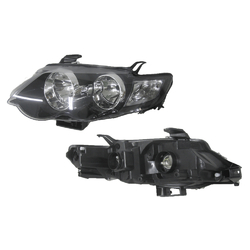 Ford Falcon XR6 & XR8 FG 02/2008-08/2011 Headlight BLACK-LEFT