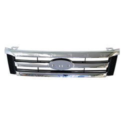 Grille for Ford Ranger PX 09/2011-05/2015 Chrome/Black