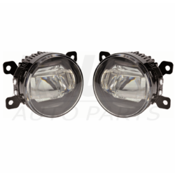 LED Fog Light Kit for Great Wall SA220 4Dr 6/09-ON 2 in 1 W/Wiring&Switch