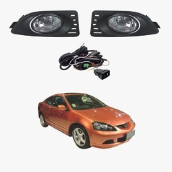 Fog Light Kit for Honda Integra DC5 10/2004-01/2006 with Wiring & Switch