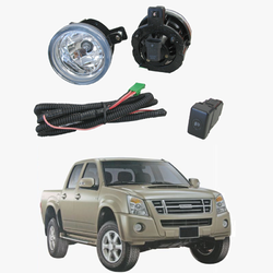 Fog Light Kit for Holden Rodeo RA 01/2007-09/2008 with Wiring & Switch