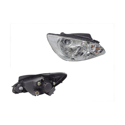 For HYUNDAI Getz TB 10/2005-2011 Headlight (2 HORIZONTAL BAR ON CORNER) Right