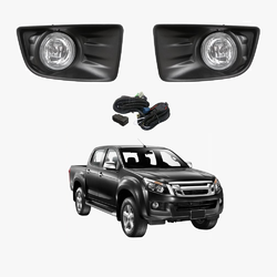 Fog Light Kit for Isuzu D-Max 2012-2016 with Wiring & Switch