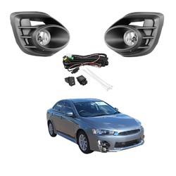 Fog Light Kit for Mitsubishi Lancer CF 2015-2017 W/Wiring&Switch