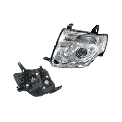 Mitsubishi Pajero NS NT NW 2006-2016 Headlight With Electric Motor-LEFT