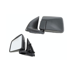 Door mirror for Mitsubishi Triton MJ 1992-1996 Manual Black-LEFT