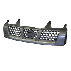 Grille for Nissan Navara D22 11/2001-ON front Grey