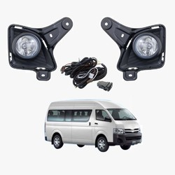 Fog Light Kit for Toyota Hiace LWB TRH/KDH 08/2010-11/2013 with Wiring & Switch