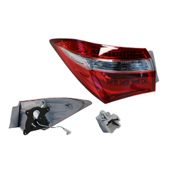 Toyota Corolla SEDAN ZRE172 01/2013-10/2016 Tail Light OUTER Left