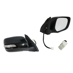 Door mirror for Toyota Prado J150 SERIES 2 11/2013-ON ELECTRIC 7 PINS FOLDING-RH