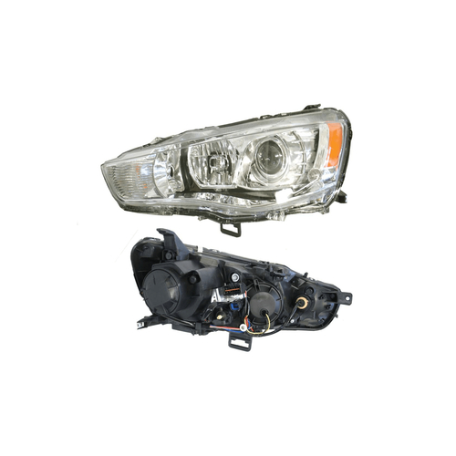 Headlight for Mitsubishi Outlander ZH 08/2009-2012 Projector-LEFT