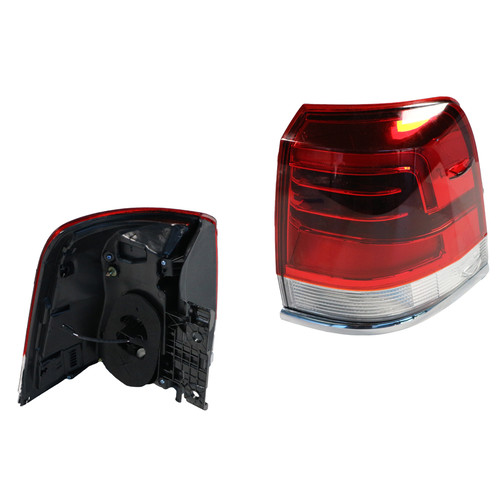 GENUINE Toyota Landcruiser 200 10/15-ON Outer LED Tail Light LIFT UP TYPE - RIGHT