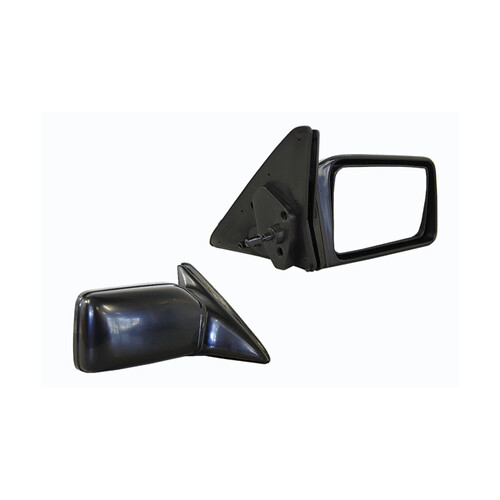 Door mirror for Toyota Camry SV20 SV21 SV22 1987-1992 Black Manual-RIGHT